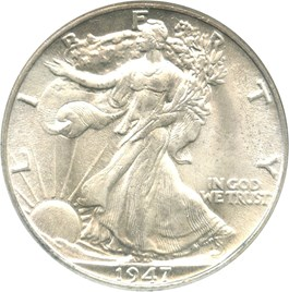 Image of 1947 50c NGC/CAC MS65