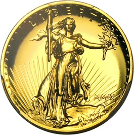 Image of 2009 Ultra High Relief $20 PCGS MS70 PL (Augustus Saint Gaudens Signature)