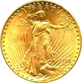 Image of 1928 $20 PCGS/CAC MS64 (OGH)