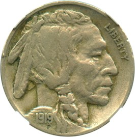 Image of 1919-D 5c NGC VF30