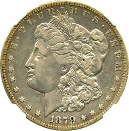 Image of 1879-CC $1 NGC VF25