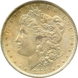 Image of 1883 $1 PCGS/CAC MS66