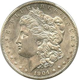 Image of 1904-S $1 PCGS AU55