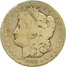 Image of 1892-CC $1 PCGS Good-4
