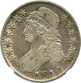 Image of 1814 50c NGC F12