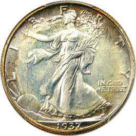 Image of 1937 50c PCGS/CAC Proof 67+