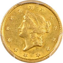 Image of 1851-O G$1 PCGS/CAC AU58