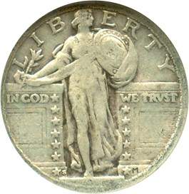 Image of 1923-S 25c NGC AG-3