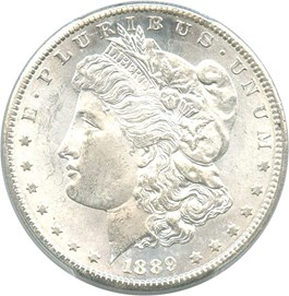Image of 1889-S $1 PCGS MS64