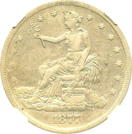 Image of 1877-S Trade$ NGC VF30