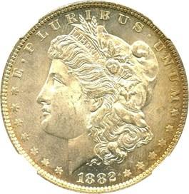 Image of 1882-O $1 NGC MS64