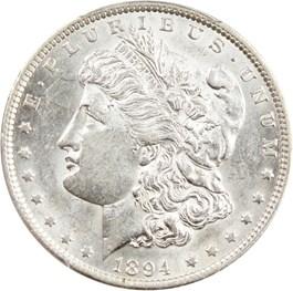 Image of 1894 $1 PCGS AU58