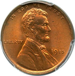Image of 1915 1c PCGS MS66 RD