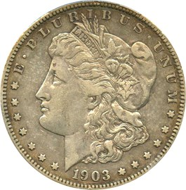 Image of 1903-S $1 PCGS VF35