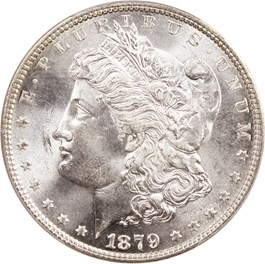 Image of 1879 $1 PCGS MS66