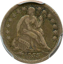 Image of 1855-O H10c PCGS VF30 (Arrows)