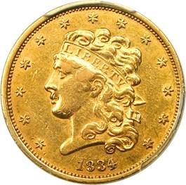 Image of 1834 Classic Head $5 PCGS XF45 (Classic, Plain 4)