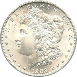 Image of 1902-S $1 PCGS MS64+