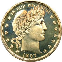 Image of 1897 50c PCGS Proof 67 CAM