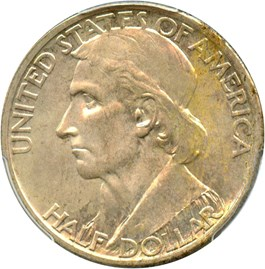 Image of 1935-S Boone 50c PCGS MS66