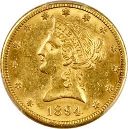 Image of 1894-O $10 PCGS AU58