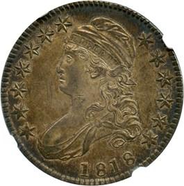 Image of 1818 50c NGC/CAC AU55