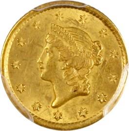 Image of 1853-O G$1 PCGS/CAC AU58
