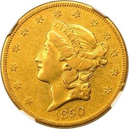 Image of 1850-O $20 NGC XF40