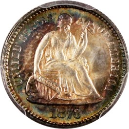 Image of 1873 H10c PCGS MS66