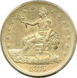 Image of 1875-S Trade$ PCGS AU55