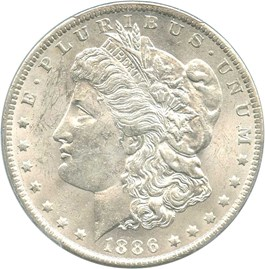 Image of 1886-O $1 PCGS MS61