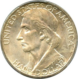 Image of 1935-D Boone 50c PCGS/CAC MS65