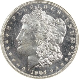 Image of 1904-O $1 NGC MS65 DMPL