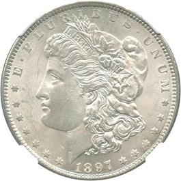 Image of 1897 $1 NGC MS64