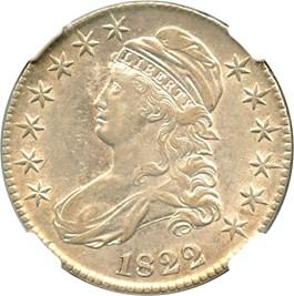 Image of 1822 50c NGC XF45