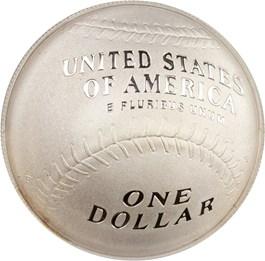 Image of 2014-P Baseball Hall of Fame $1 PCGS Proof 70 DCAM (Al Kaline Signature) - No Reserve!