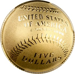 Image of 2014-W Baseball Hall of Fame $5 PCGS Proof 70 DCAM (Lou Brock Signature) - No Reserve!