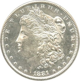 Image of 1881-S $1 NGC MS64 PL