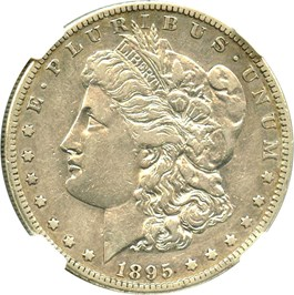 Image of 1895-S $1 NGC VF35