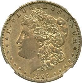 Image of 1896-O $1 NGC AU50