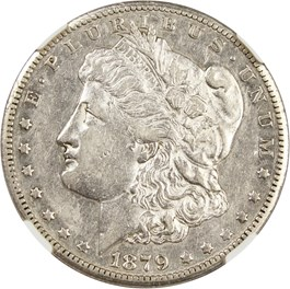 Image of 1879-CC $1 NGC XF45