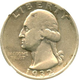 Image of 1932-D 25c NGC VF20