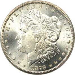 Image of 1878-CC $1 PCGS/CAC MS66