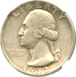 Image of 1932-S 25c NGC VF30