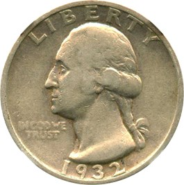 Image of 1932-S 25c NGC VF20