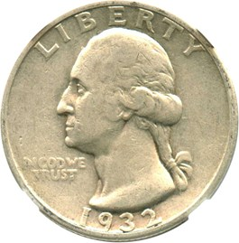 Image of 1932-S 25c NGC VF35
