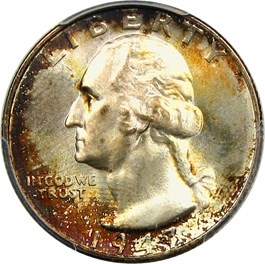 Image of 1947-S 25c PCGS/CAC MS67