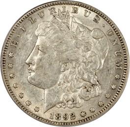 Image of 1892-S $1 PCGS/CAC AU50