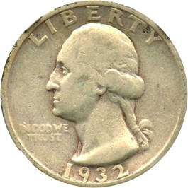 Image of 1932-S 25c NGC VF25