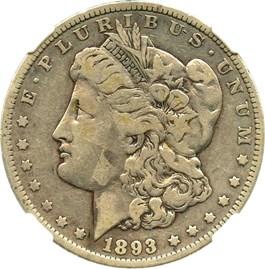 Image of 1893 $1 NGC VG-10